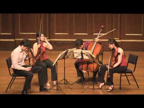 Beethoven String Quartet Op. 18 No. 6 Gioviale Quartet