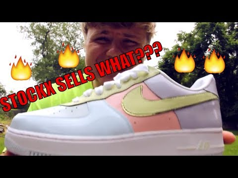 ca70340d IS STOCKX LEGIT? FINALLY TALKED ABOUT! NIKE AIR FORCE SPECIAL - YouTube