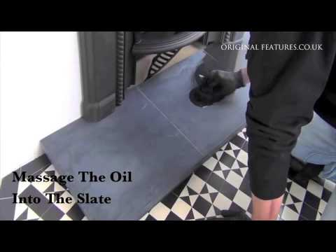 Fireplace Slate Hearth Cleaning Guide by Original Features