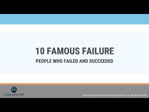 10 Famous Failures