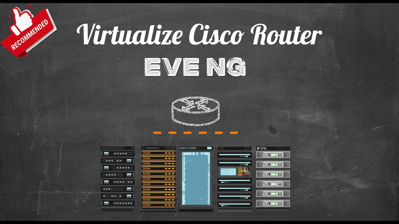 Eve-NG & Adding A Cisco Router Image