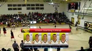 2015 High School Basketball: Uintah @ Union Boys Varsity