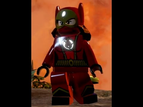lego batman 3 how to make flash faster