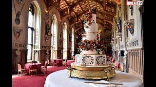 Los secretos detrás del pastel de bodas de Eugenia de York | ¡HOLA! TV