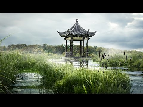 Maya Tutorial Now Available: Creating A Swampy Landscape Using V-Ray Scatter