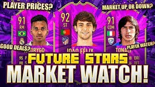 OVERNIGHT FLIPPING FUTURE STARS!! MAKING INVESTMENTS!! FIFA 20 Ultimate Team