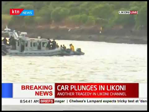 Kenya navy  lead the search and retrieval of the car that plunged into Indian Ocean