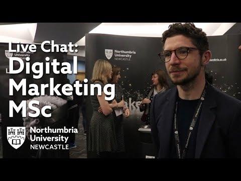 Digital Marketing MSc at Northumbria University | Live Chat