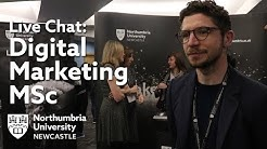 Digital Marketing MSc at Northumbria University | Live Chat