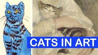 Cats in Art History #InternationalCatDay   LittleArtTalks