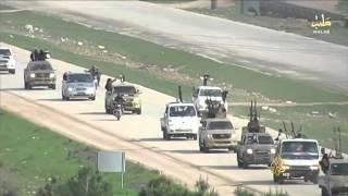 فيديو..  داعش تسيطر على مواقع للمعارضة بريف حلب