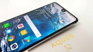 Sharp Aquos S2 - 12MP 4K - Snapdragon - 4GB/64GB - Bezel-Less - NFC - Fast Charge!