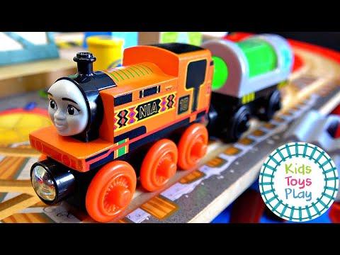 Thomas the Tank Engine Big World Big Adventures Nia Compilation
