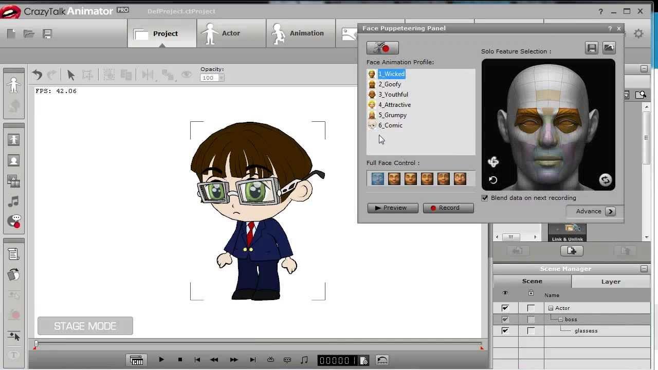Combo - C: CrazyTalk Animator - POWER TOOLS Vol
