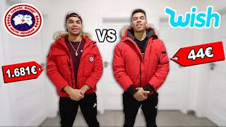 44€ JACKE VS 1.681€ JACKE !!! (WISH PRODUKTE VS ORIGINALE PRODUKTE) | Kelvin und Marvin