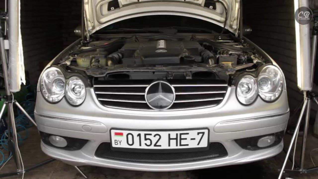 Покраска Mercedes 210