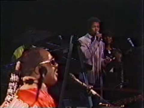 Stevie Wonder - Live 1985 ebony and ivory