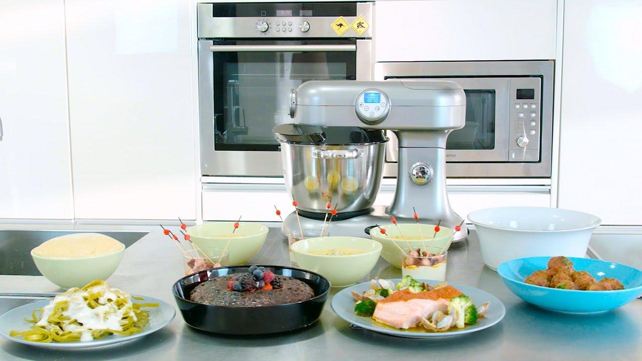 Robot de cocina multifunci n cecomixer youtube for Robot de cocina multifuncion