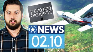 Flight Simulator 2020 braucht offline bis zu 2.000 Terabyte - News