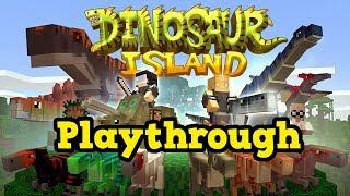 DINOSAUR ISLAND - Minecraft Xbox / PE  (DLC Adventure)