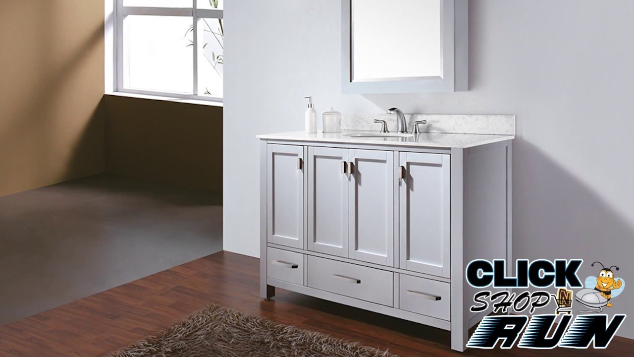 Avanity Modero Bathroom Vanity Video Review    Clickshopnrun.com