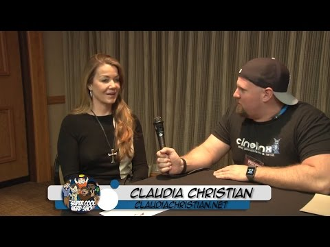 Claudia Christian  at Marvelous Nerd Years Eve