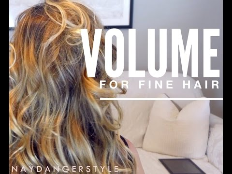 Give Fine Hair Volume