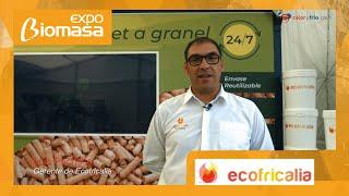 Vending de Pellets Ecofricalia MYOPellet en Expobiomasa 2021
