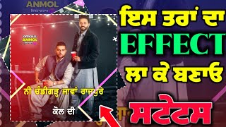 New Effects For Status Video || Red Screen Status || Black Screen Effects || Technical Sandhu