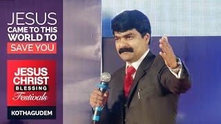 Bro Anil Kumar Sermon - JCB Festivals 2015 - Kothagudem 2Day