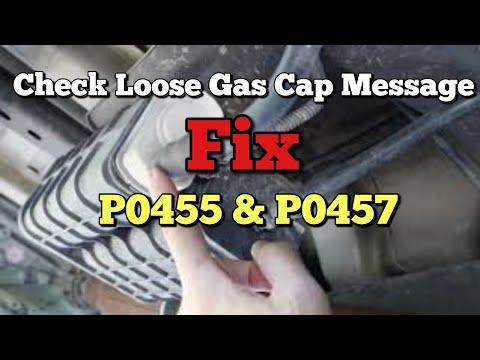 How to Fix P0457 Check Gas Cap Loose P0455 Evaporative Emissions Gross Leak Ram Jeep Wrangler Dodge