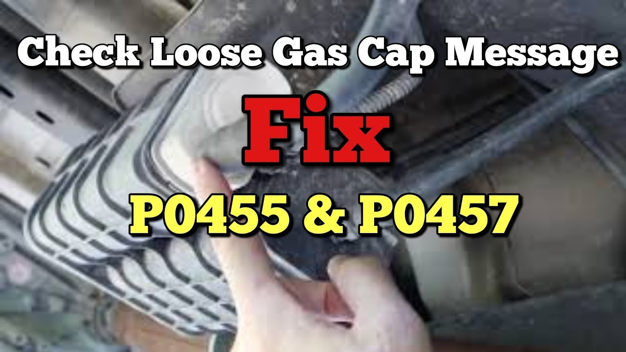 How to Fix P0457 Check Gas Cap Loose P0455 Evaporative Emissions Gross Leak  Ram Jeep Wrangler Dodge
