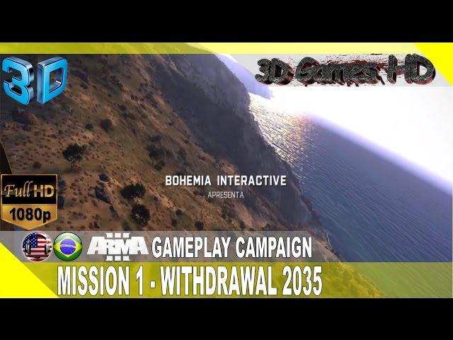 3d Arma 3 MissÃo 1 - Retirada 2035 | Half-sbs 1080p