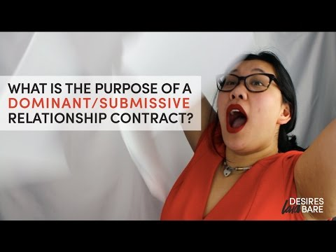 What Is A Dominant And Submissive Contract? from YouTube · Duration:  3 minutes 56 seconds