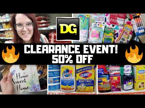 50% Dollar General Clearance October 11 To 13