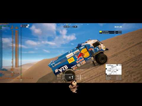Dakar 18: PC Gameplay (2K) -Threadripper 2950X GTX 1080ti