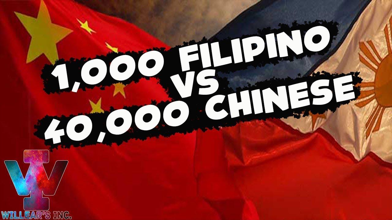 Download 1,000 FILIPINO VS 40,000 CHINESE