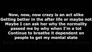 Krizz Kaliko Why Me Lyrics