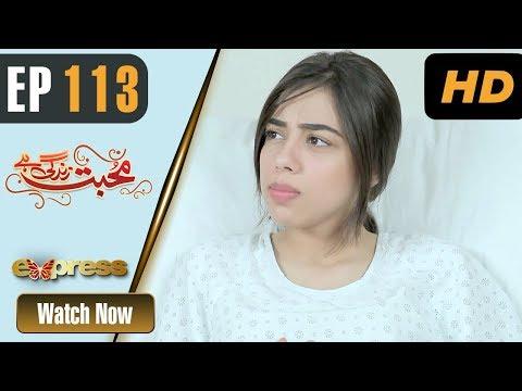 Mohabbat Zindagi Hai - Episode 113 - Express Entertainment Dramas