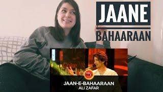 Jaan-e-Bahaaraan REACTION | Coke Studio Season 10 | Ali Zafar