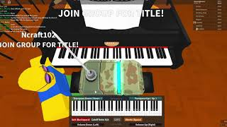 Roblox Virtual Piano | If I Can't Have You By Shawn Mendes