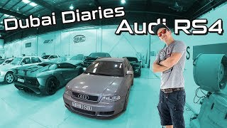 Audi RS4 B5 |  Dubai Diaries 1 | SimonMotorSport | #297