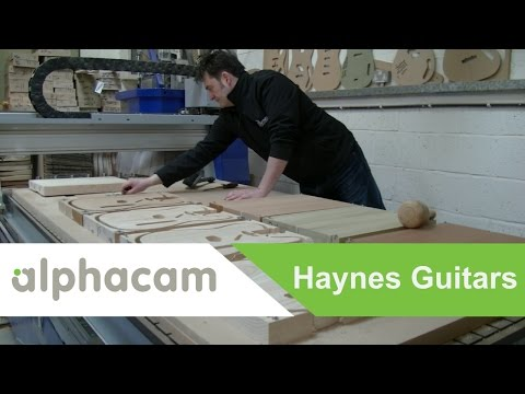 Haynes Guitars Manufacturer | Alphacam Success Story