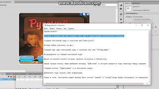 Урок создание электронного учебника по Adobe Flash