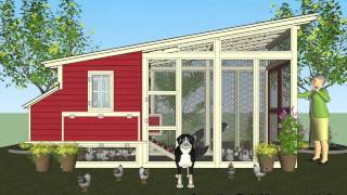 M100 - Chicken Coop Plans Construction - Chicken Coop Design - How To Build A Chicken Coop