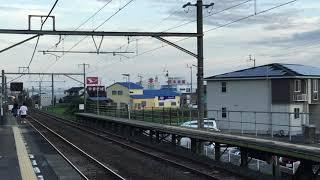 八十場駅 2700系甲種輸送 EF65-2096機牽引 2700系9両通過