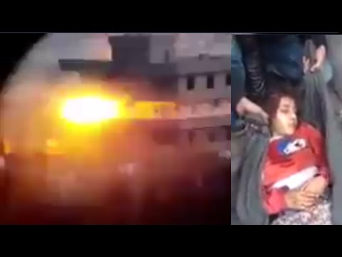 Breaking: Turkish army destroy Kurdish civilians buildings -KILLED MANY