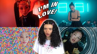 MY FIRST TIME REACTING TO BIBI 비비! 'BAD SAD AND MAD' 'Eat My Love' & 'KAZINO' MV | REACTION!!