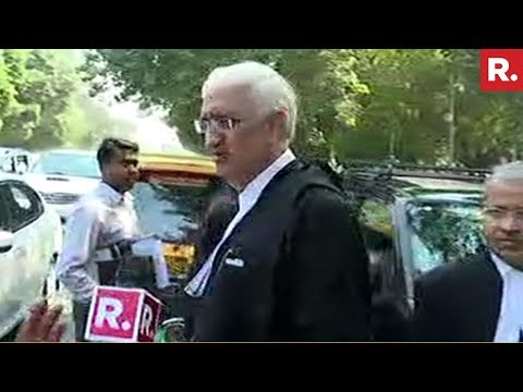 Republic TV Confronts Congress Leader Salman Khurshid | #CongAllianceAdmission