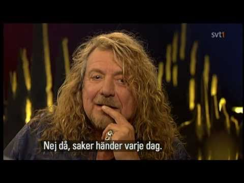 Robert Plant, Led Z. on Skavlan! october 2010